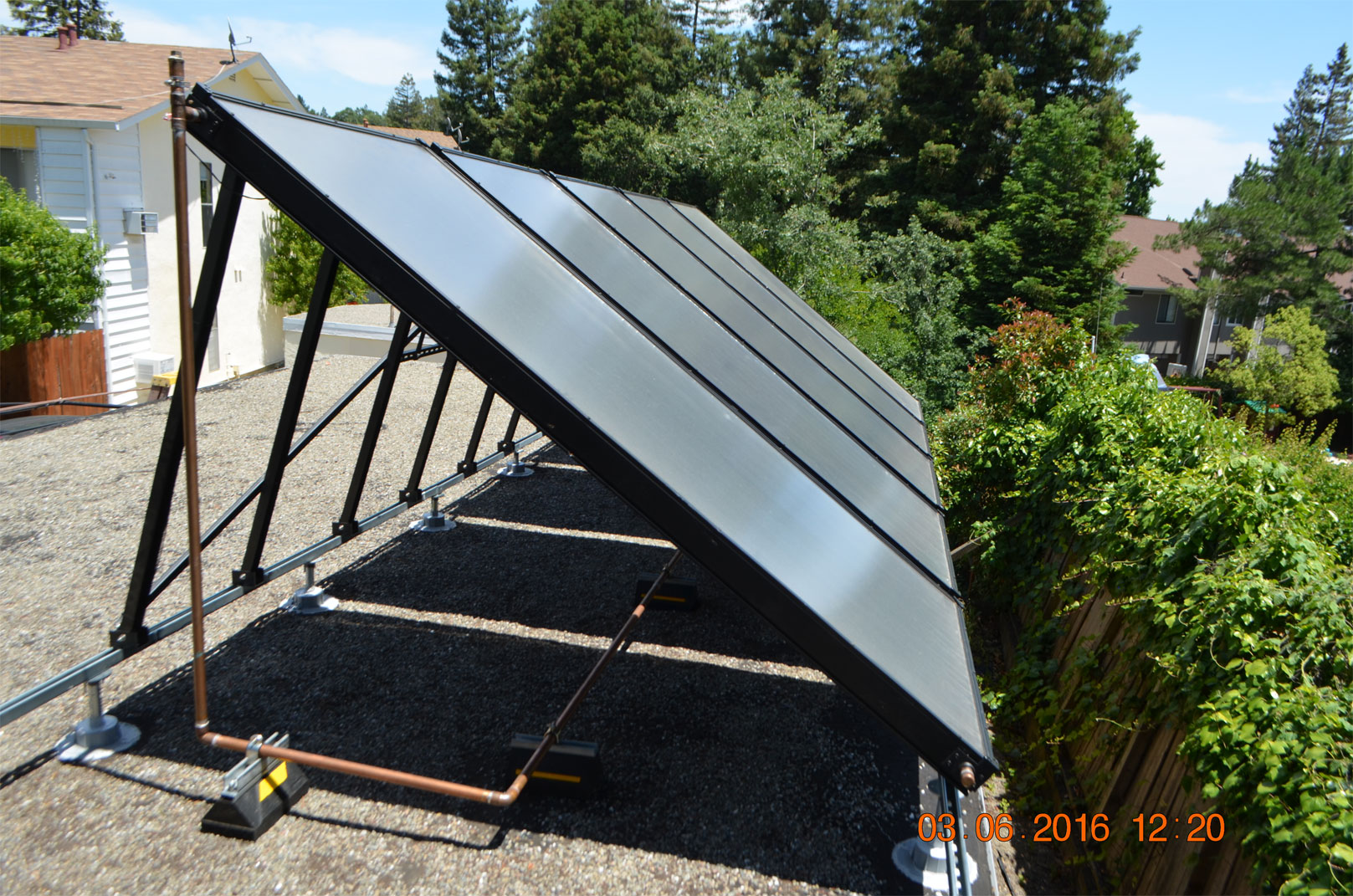 Solar pool panels capture solar energy delivered through the infrared spectrum